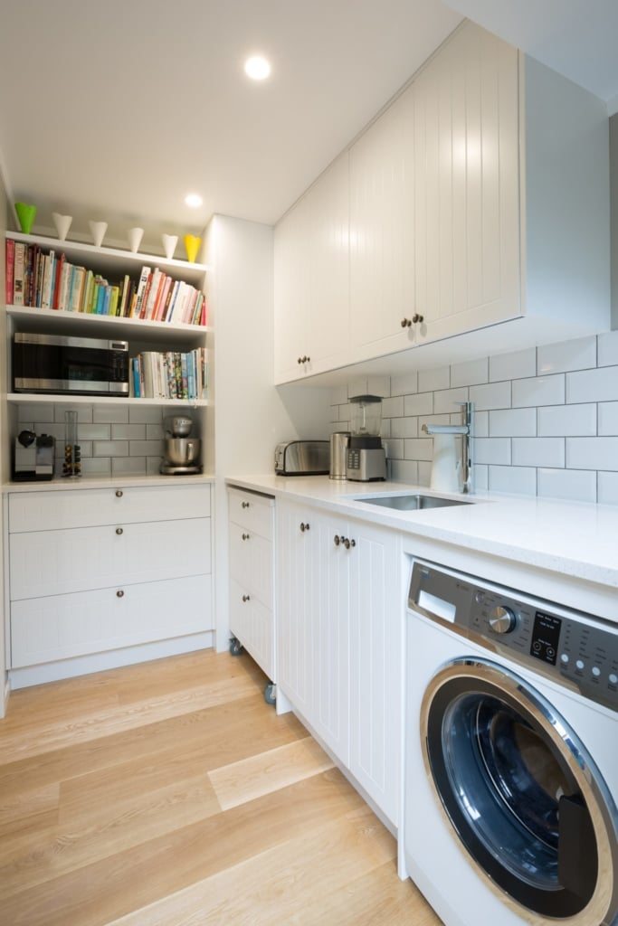 Butlers Pantry and Laundry by Within These Walls Auckland