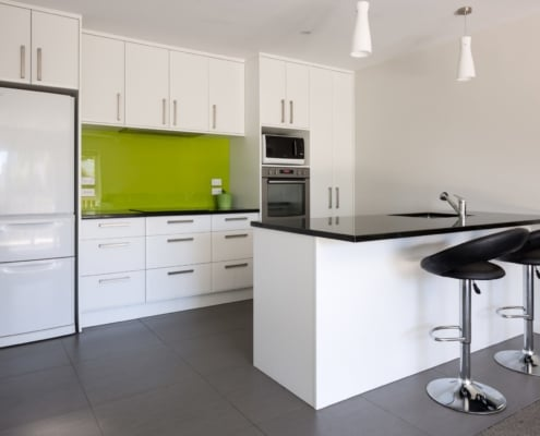 Kitchen Renovation Auckland with Breakfast Bar