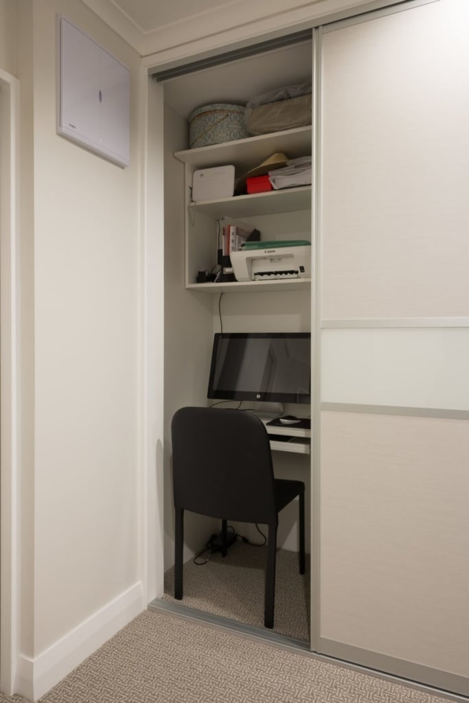 Office Nook Renovation by Within These Walls